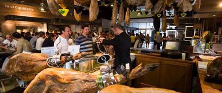 Prosciutto pata negra mercato italia